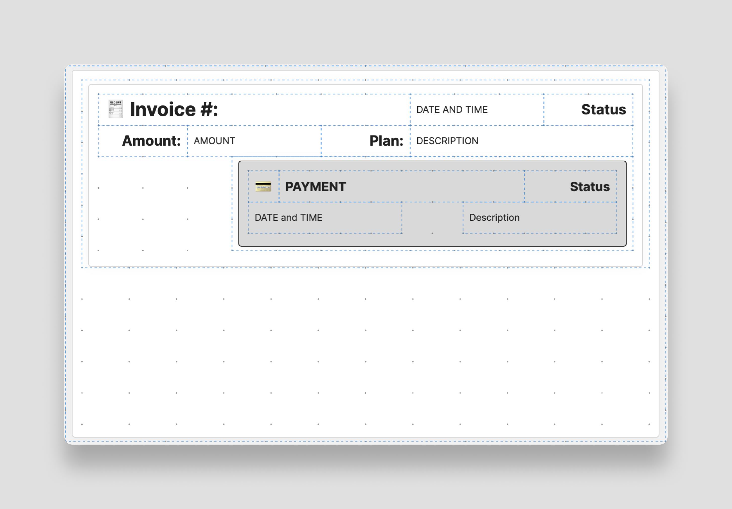 Scaffold Invoice List